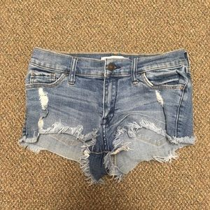 Abercrombie booty shorts